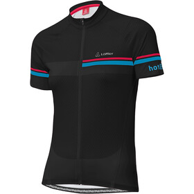 Löffler hotBOND Full-zip cykeltrøje Damer, black